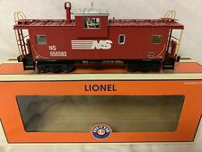 LIONEL SMOKING NORFOLK SOUTHERN EXTENDED VISION CABOOSE 6-17694 O SCALE TRAIN NS