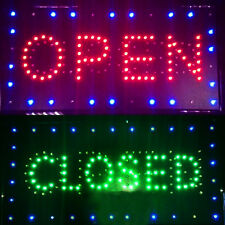 "Pro Led 2in1 Open&Close Store Shop Business Sign 9.8*20.47"" Display Neon"