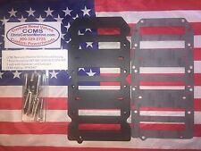 CCMS 7 Petal Hoz. Intake Spacer Plate Kit Mercury/Mariner Racing Outboard V6
