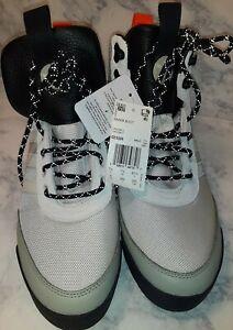New Adidas Originals Baara Cream White Black Orange Boot EE5526 Mens Size 8