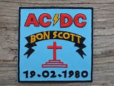 M019 ECUSSON PATCH THERMOCOLLANT aufnaher toppa AC DC bon scott highway to hell