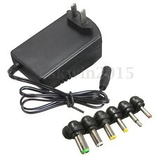 Universal 3,4.5,6,7.5,9,12V 2.5A Power Supply AC/DC Wall Power Charger