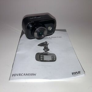 Pyle 2-in-1 Dash Cam Sports & Video Action Camera w/ WiFi - PDVRCAM50W
