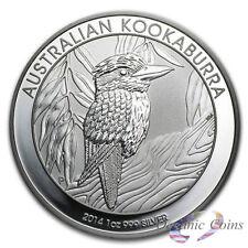 2014 Perth Mint Australia 1 oz Silver Kookaburra in Capsule