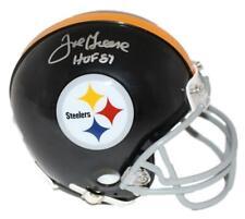 Joe Greene Autographed/Signed Pittsburgh Steelers TB Mini Helmet JSA 11459