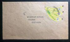 1981 Vavau Tonga Toga cover To Treasury In Nukualofa Banana Stamp