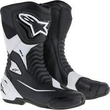 Motocicleta botas Alpinestars smx s negro/blanco talla 45