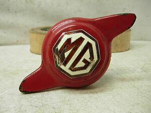 REAL 1930s 40s MG ORIG SPARE TIRE WHEEL KNOCK OFF KEY LOCK MIDGET MORRIS GARAGE