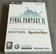 PC Final Fantasy XI Online European Version with 2 Expansions New Sealed