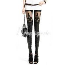 Markenlose Damen-Leggings aus Leder