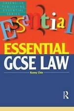 Essential GCSE Law (Essentials) by Chin, Kenny | Textbook Binding Book | 9781859