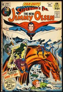 SUPERMANS PAL JIMMY OLSEN #144 1971 FN/VF Jack Kirby NEWSBOY LEGION The Guardian