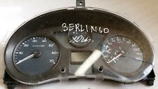 2010 CITROEN BERLINGO SPEEDOMETER INSTRUMENT CLUSTER