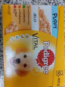 2×Pedigree Puppy Food Selection in Jelly 12  100g