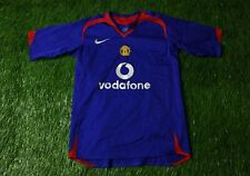 MANCHESTER UNITED 2005/2006 FOOTBALL SHIRT JERSEY AWAY NIKE ORIGINAL YOUNG L