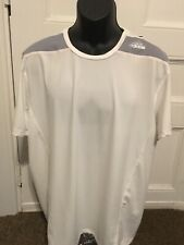 Adidas Performance Techfit Base Wht/mid/gre Size XL With Tags