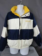 Nautica Reversable Colorblock Sailing Coat Mens Jacket Sport Polo M Vintage