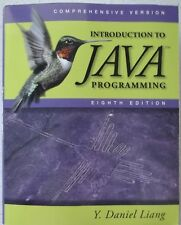 Introduction to Java Programming, Comprehensive by Y. Daniel Liang 8th Paperback