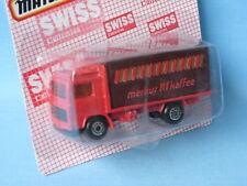 Matchbox Swiss Promo Volvo Container Truck Merkur Toy Model truck 70mm