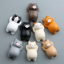 3D Cartoon Love Cat Magnetic Refrigerator Sticker Fridge Magnet Decoration 1pc