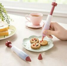 Silicone Food Writing Pen Cake Chocolate DIY Pastry Nozzles Cake Decorating Tool