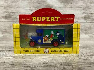 Lledo 16039 1934 Dennis Parcels Van Rupert Bear + Box