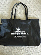 Large Souvenir Turkey Bingo Bash Bag Lightweight Vinyl Tote Bag. (#2529).