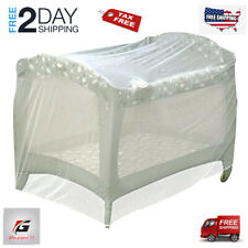 Jeep Universal 00006000  Size Pack N Play Mosquito Net Tent, White