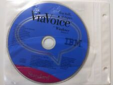 IBM ViaVoice for Windows Release 8 Standard Edition - You talk it types - PC CD