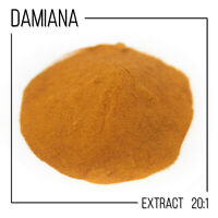 DAMIANA EXTRACT10g  20:1 Turnera afrodisiaca Turnera diffusa