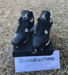 "BRAND NEW Nike Air Jordan Retro ""Oreo IV 4"" Cleats AJ4"