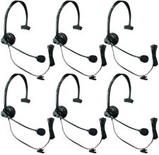 Panasonic KX-TCA60 (6-Pack) Over the Head Headset