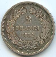 Louis Philippe Ier 2 Francs 1832 H La Rochelle
