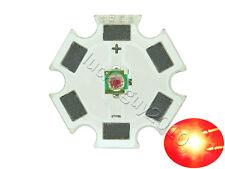 10pcs Cree XLamp XPE XP-E 1W~3W Red 620nm~630nm High Power LED Light on 20mm PCB