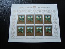 LIECHTENSTEIN - timbre/stamp Yvert et Tellier n° 822 x8 n** (Z2)