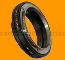 MACRO Adjustable Canon FD mount lens to EF EOS camera adapter Aperture Control