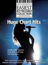 EINFACHSTE Keyboard Collection HUGE Chart-Hits JETZT ADELE EASY MUSIKBUCH