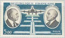 FRANCE FRANKREICH 1971 1746 C45 D. Daurat R. Vanier Aviation Pioneers Plane MNH