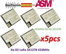 5pcs Ra-02 LoRa SX1278 433MHz Wireless Serial Port UART Interface Ra02