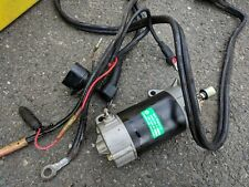 Yamaha 40 HP Start With Solenoid and Battery Cables Mid 1980s Clean!