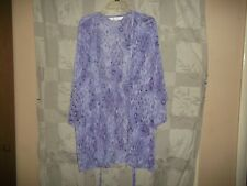 VICTORIAS SECRET SHEER  POLYESTER  ROBE NEW WITHOUT TAGS ONE SIZE