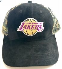 Los Angeles Lakers Hat Limited Edition Kobe Bryant Soft Suede Bill Camo One Sz
