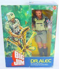 "Mattel USA BIG JIM 10"" DR. ALEC JUNGLE TEAM LEADER Figure NMIOB`84 VERY RARE!"