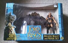 The Lord of the Rings ROTK Sharku with Warg Beast Deluxe Beast and Rider Set