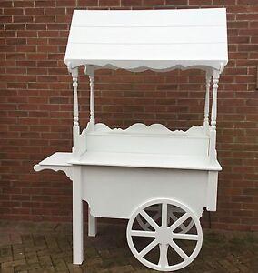 Candy Confiserie Chariots Pour Blanc Peint Entièrement Pliable Prêt Now mariages