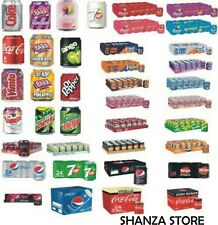 Coca cola ,pepsi,sprite,fanta,all 330ml cans in one listing - Price marked Cans