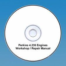 Perkins 4.236 Series Engines Workshop Repair Manual CD PDF