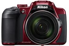 Nikon Coolpix B700 Digital Camera Red 20.2mp UHD 4k Video