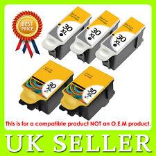 5 Ink Kodak 30 XL Black & Colour Replace for ESP C110 C310 C315 Printer