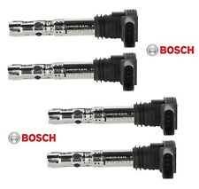 Set of 4 Bosch Direct Ignition Coils for Audi A4 TT Volkswagen Golf 1.8L L4 NEW